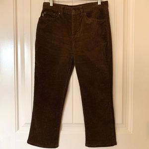 Ralph Lauren Jeans Cords / Rich Brown Size 2P